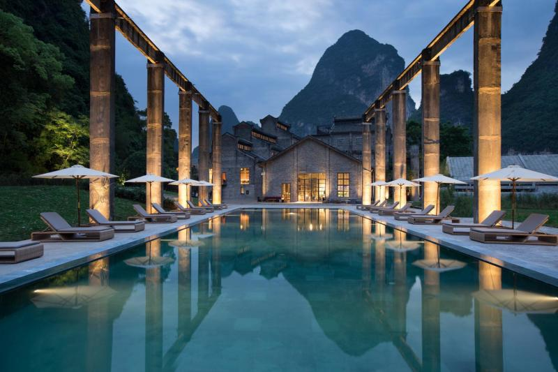 Alila Yangshuo Over view